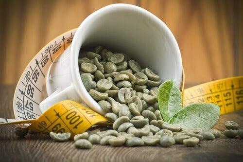 Chicchi di caffè verde per dimagrire