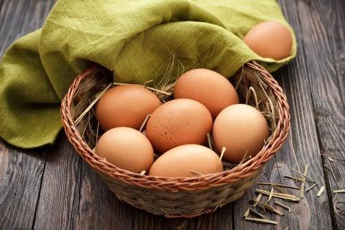 Uova e proteine magre