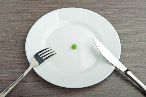 Diete rigide nocive per l'organismo