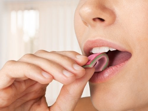 Gomme da masticare ricche di sorbitolo
