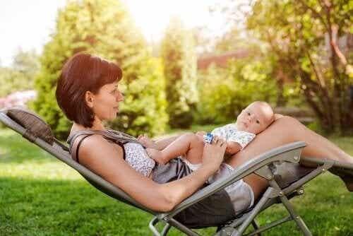 Post parto in estate: come affrontarlo al meglio