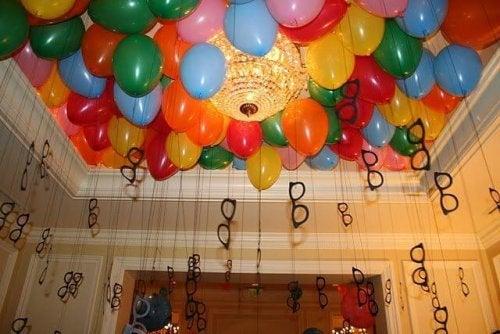 Palloncini per una festa