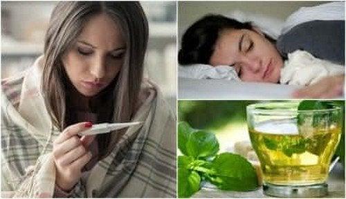 Come abbassare la febbre in casa con metodi naturali