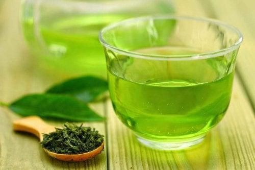 Tisana per la dieta al tè verde