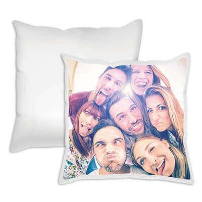 Cuscini con fotografie stampate