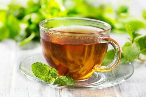 Il tè alla menta