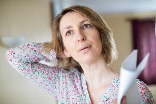 La menopausa e i sintomi