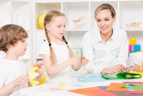Disturbi dello spettro autistico, psicologa e bambini