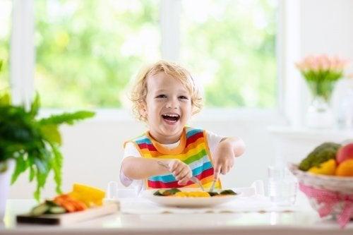 Dieta sana per bambini da 1 a 3 anni