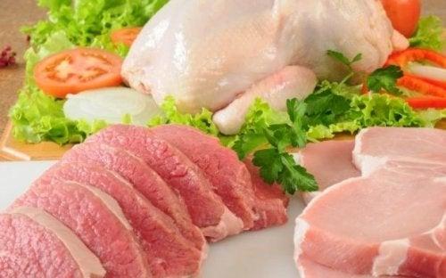 Carni magre durante l'allattamento