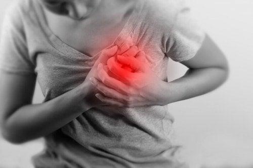 Dolore al cuore