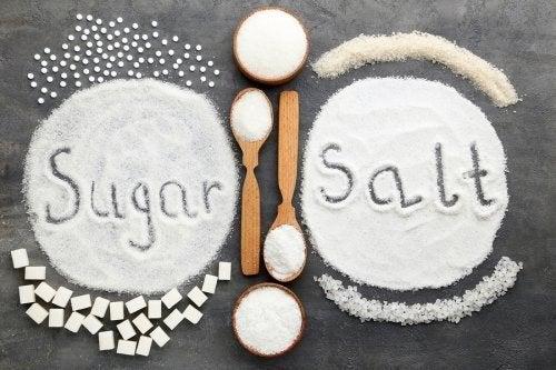 Zucchero e sale: quale fa più male in eccesso?