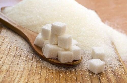Zollette di zucchero raffinato