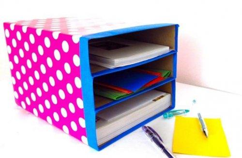 10 oggetti fai da te: scatola portaoggetti
