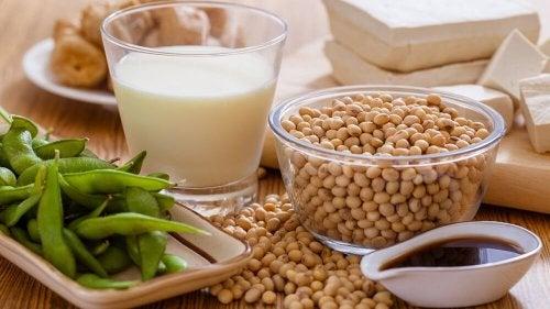 Tenere sotto controllo il colesterolo alto: consumare la soia
