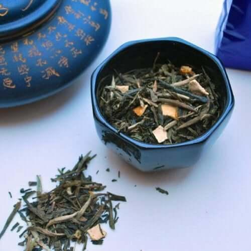 Il tè blu è una bevanda tradizionale cinese