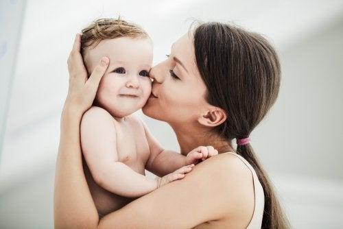 Dimostrare amore ai figli è importante