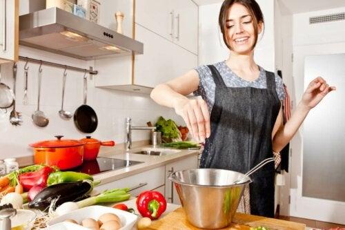 Cucinare in modo sano
