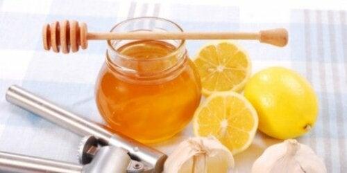 Le proprietà del limone e miele