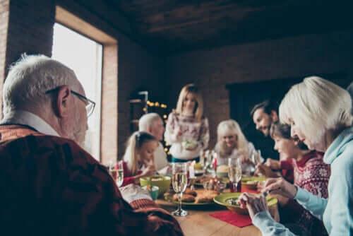 a volte, trascorrere dicembre con la famiglia genera alcuni problemi