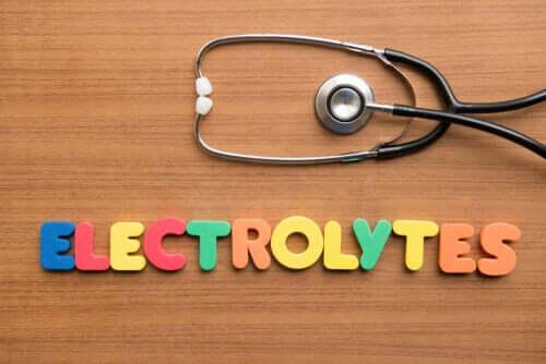 Gli elettroliti: cosa sono e dove si trovano?