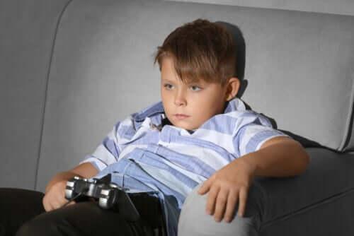Sedentarietà infantile: un'epidemia in aumento