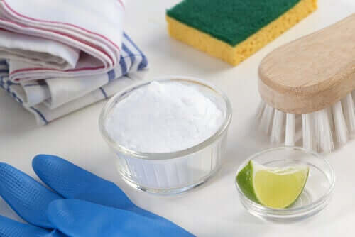 Detergenti ecologici al bicarbonato