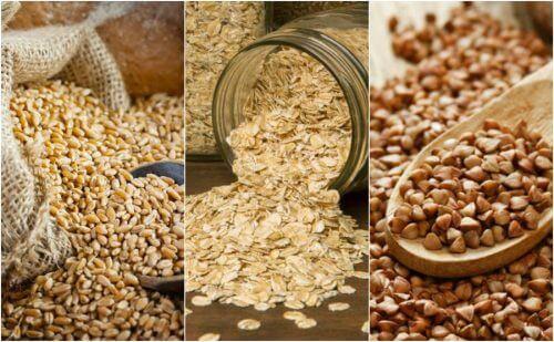 i cereali rappresentano un'ottima fonte di calorie