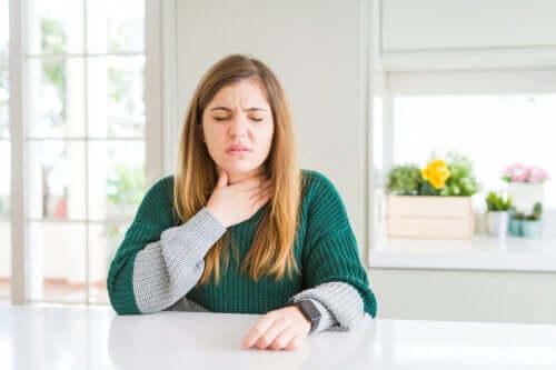 Irritazione della gola: come ottenere sollievo?