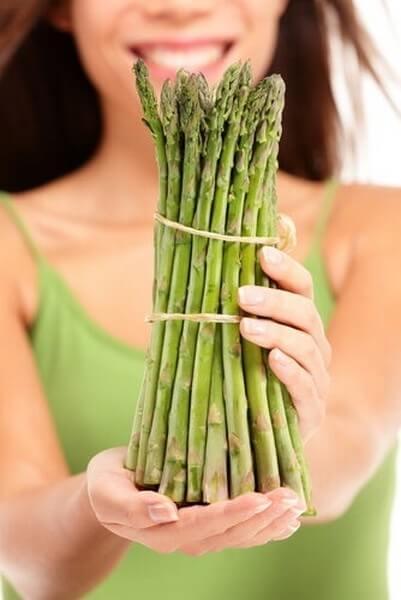 Forte odore delle urine e asparagi