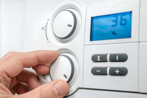 Regolazione del termostato