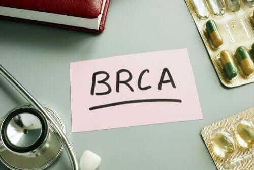Scritta BRCA e farmaci