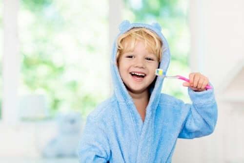 L'igiene orale nei bambini è fondamentale