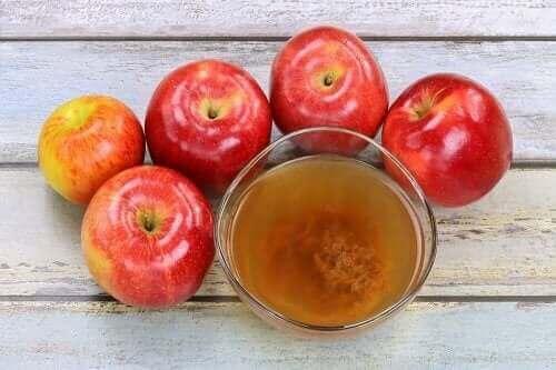 Aceto di mele per eliminare le verruche
