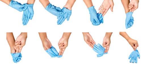 Come togliere i guanti