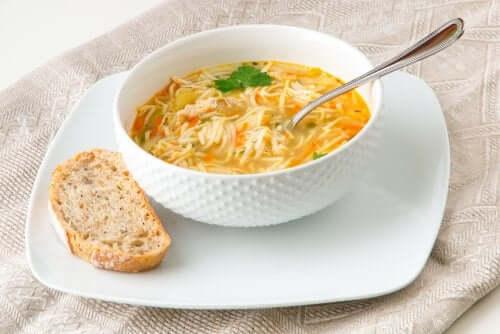 Zuppe di fiedeos