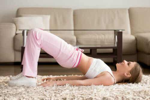 Esercizi da fare in casa durante l'isolamento