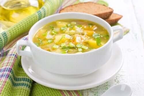Tradizionale minestrone di verdure