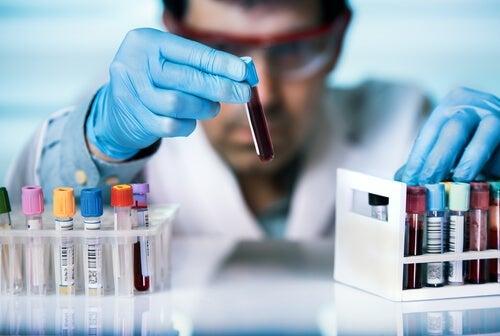 Provette per le analisi del sangue