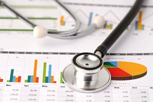 Grafici e stetoscopio