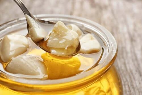 Aglio fresco con miele