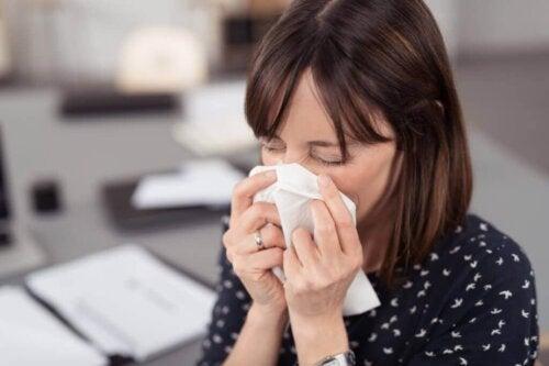 Attacco allergico