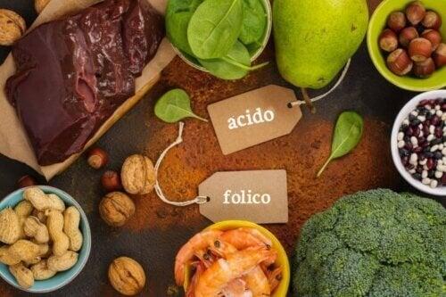 Nutrienti che contengono acido folico