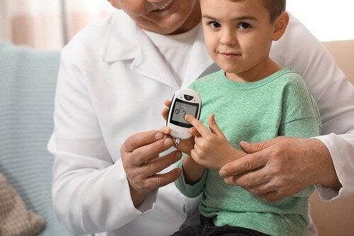 Glicemia nei bambini: valori normali