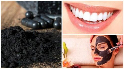 Carbone attivo per sbiancare i denti e rischi