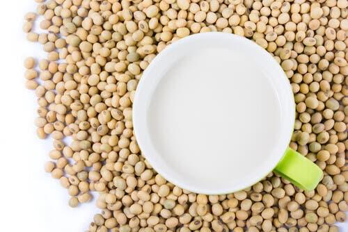 Fagioli e latte di soia