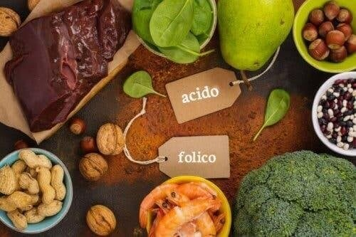 Cibi per consumare più acido folico