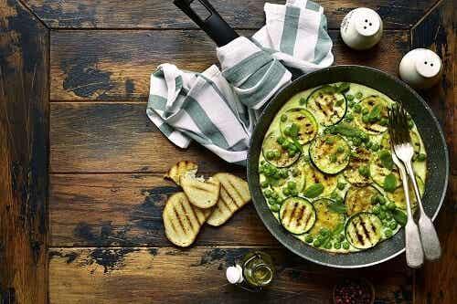 Frittata vegana alle zucchine, una ricetta saporita