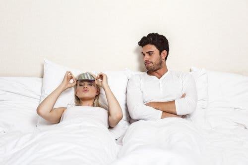 Frustrazione sessuale nella coppia