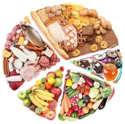 Nutrienti essenziali in una dieta sana